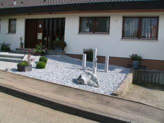 Vorgarten Mit Steinen Gestalten U2013 Greengrill, Hause Und Garten