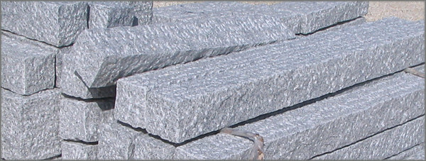 granit palisaden kaufen werner natursteine. Black Bedroom Furniture Sets. Home Design Ideas