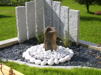 ideen kiesbeete und splittbeete | werner natursteine, Garten dekoo