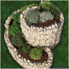 gabionen kr uterschnecken kaufen werner natursteine. Black Bedroom Furniture Sets. Home Design Ideas