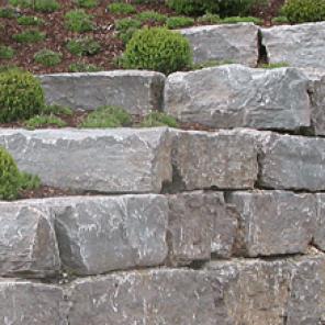 Mauersteine aus Muschelkalk