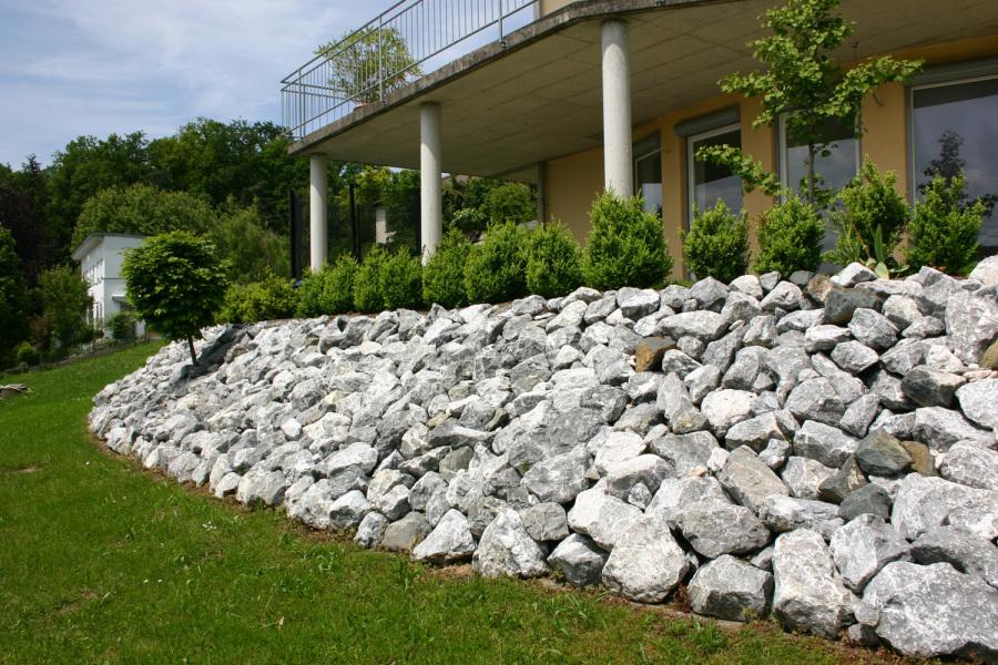 Ideen Gestaltung Steingarten Hang Pic - Wohndesign -