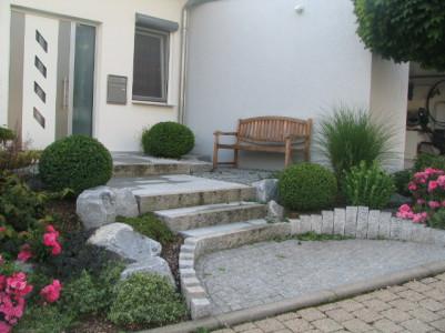 Ideen natursteine im hauseingang werner natursteine - Ideen hauseingang ...