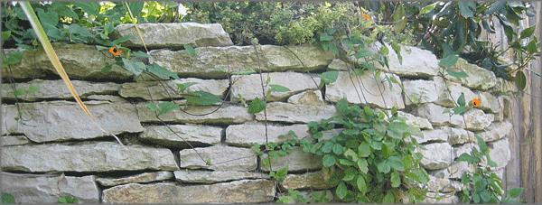 Mauerplatten jurakalk