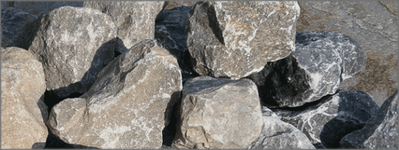 Wasserbausteine Muschelkalk