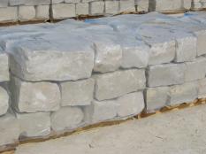 Jurakalk Mauersteine