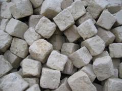 Pflastersteine aus Jurakalk