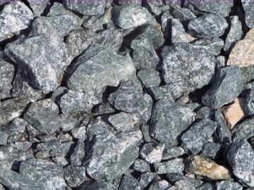 Ziersplitt Granit anthrazit