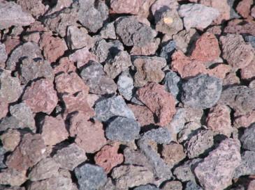 Ziersplitt Lava bunt