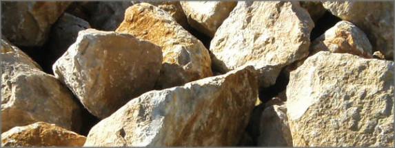 Steine aus Dolomit