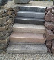 Natursteine - Treppe