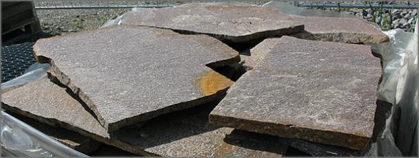 Porphyr Bodenplatten