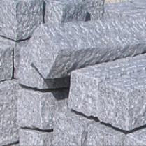 Palisaden Granit hellgrau