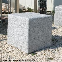 Sitzstein Granit