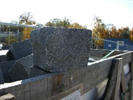 Pflasterstein Granit anthrazit
