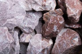 Gabionensteine rot classic rocks