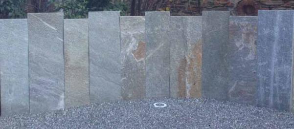 Gneis Krustenplatten