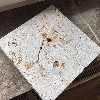 Muschelkalk Bodenplatten