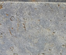 Muschelkalk Terrassenplatten getrommelt